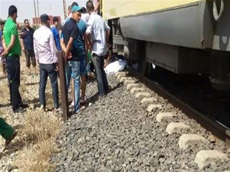 مصرع ربة منزل وإصابة طفلتيها تحت عجلات قطار في طنطا