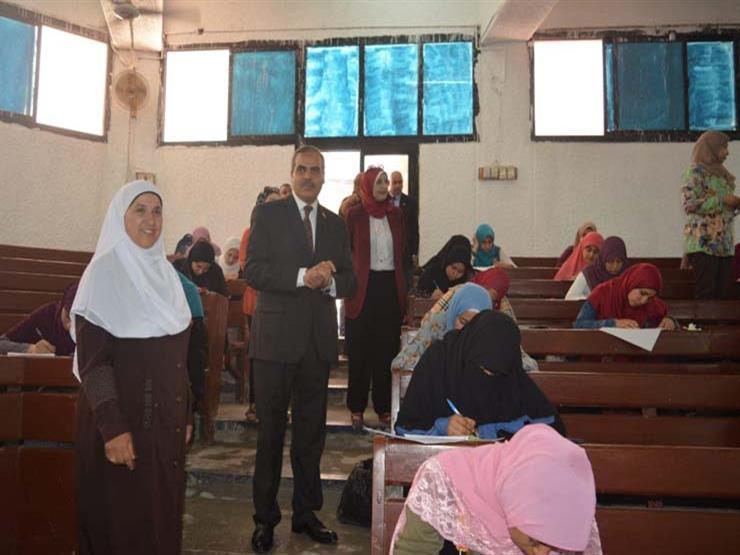 المحرصاوي يتابع سير الامتحانات بكليات جامعة الأزهر بالقاهرة   مصراوى
