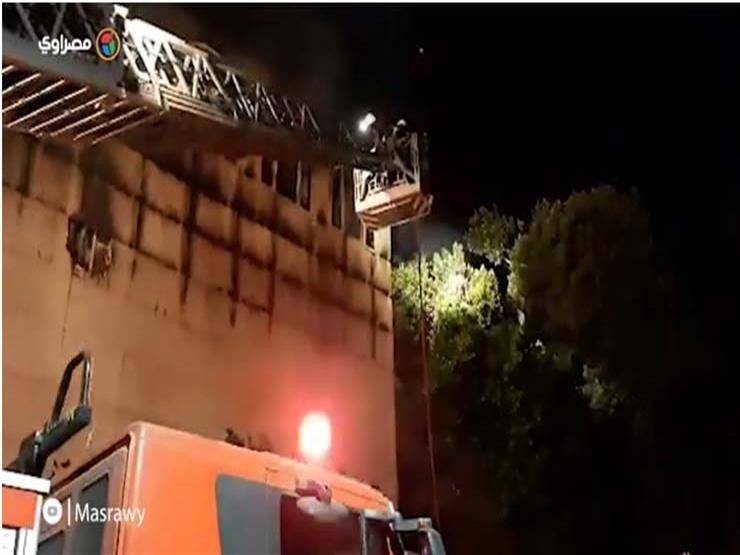 شهود عيان: الكنيسة تحولت لكتلة من النار