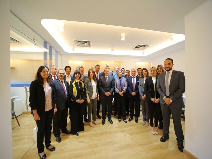البنك الأهلي يفتتح مركزا لخدمات تطوير الأعمال بالعاشر من رمضان
