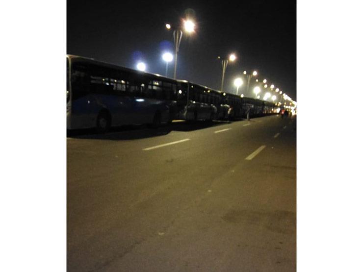 رئيس النقل العام يتابع نقل جماهير السنغال وبنين