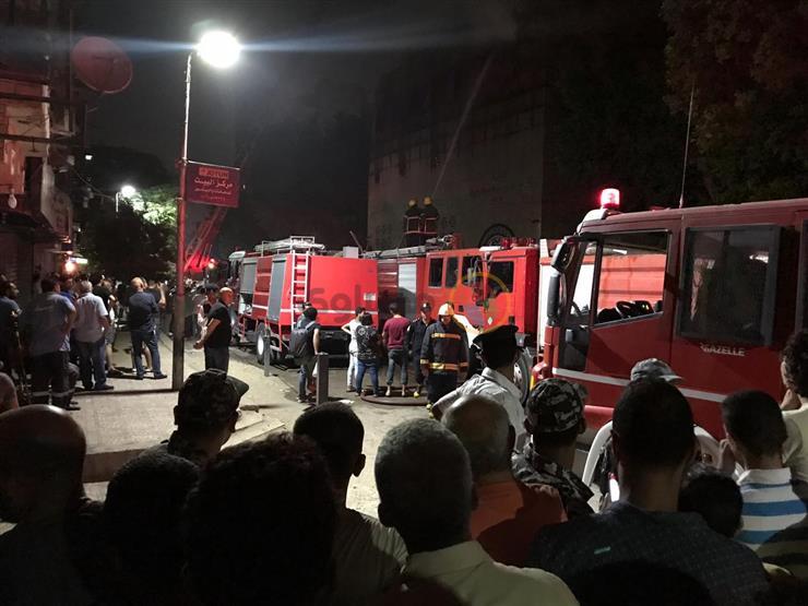 """شاهد عيان: كنيسة """"الأنبا بولا"""" تأثرت بشكل كبير جراء الحريق"""