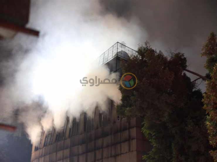 مصدر بالقاهرة: 3 إصابات بالاختناق جراء حريق كنيسة الأنبا بولا