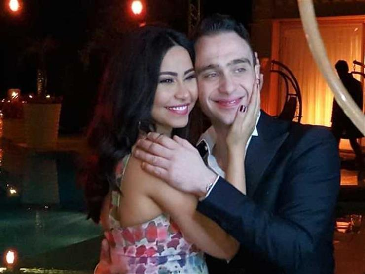 شيرين تتجاهل أنباء حملها ومرضها وتنشر صورة رومانسية تجمعها بحسام حبيب