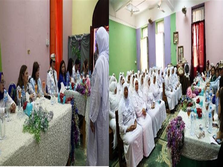 وفد من أعضاء  القومي للمرأة  يزور نزيلات سجن النساء بالقناطر   مصراوى