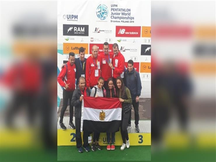 مصر تحصد الذهبية الثانية ببطولة العالم للخماسي الحديث للناشئين ببولندا