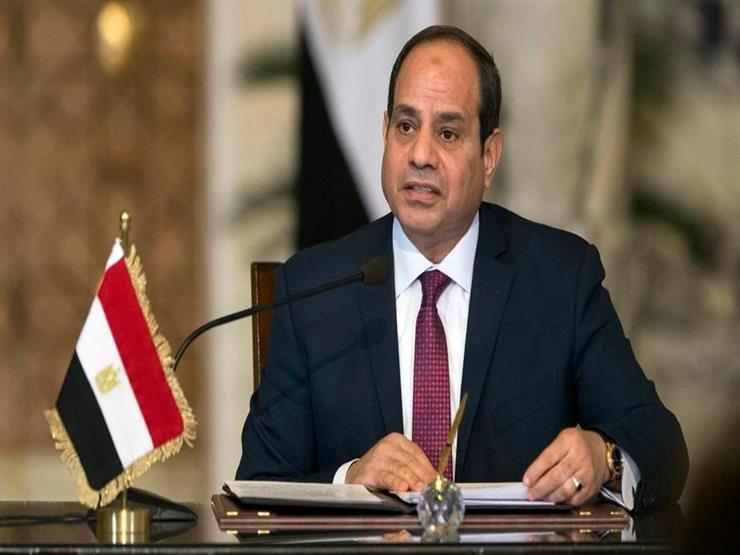 السيسي يهنئ الرئيس الموريتاني المنتخب