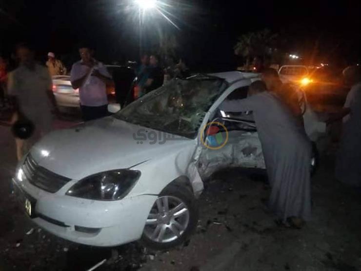 إصابة 4 أشخاص في حادثين منفصلين ببني سويف