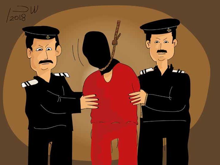 الإعدام شنقا لفلاح قتل صديقه في المنيا