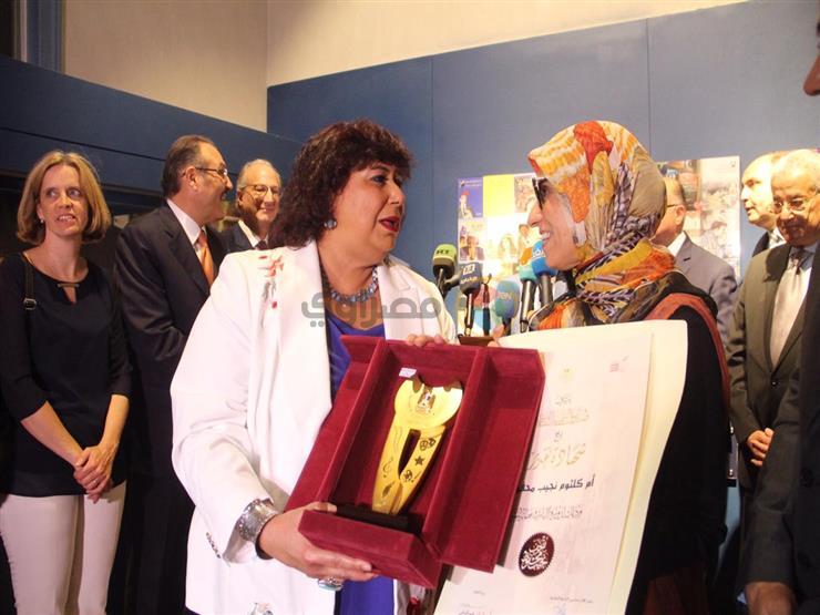 في حفل افتتاح متحف نجيب محفوظ.. كيف استقبل أديب نوبل ضيوفه؟