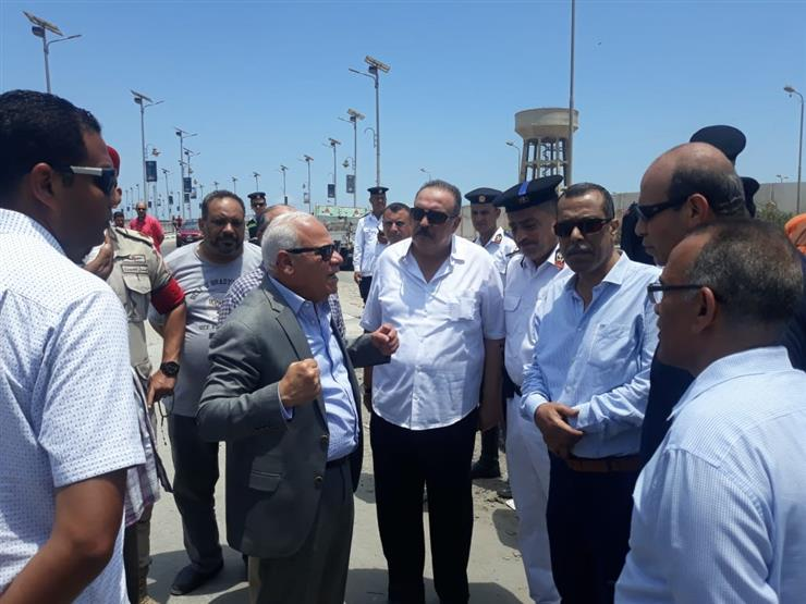 قرار مفاجئ من محافظ بورسعيد بخصوص منفذ الرسوة الجمركي