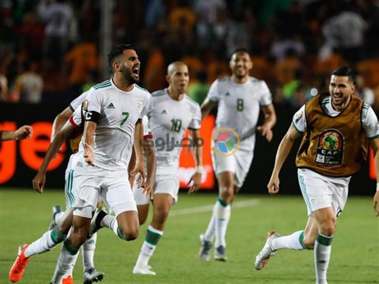 بالفيديو.. لقطة لم تذع.. مدرب الجزائر يحرم نيجيريا في العودة   مصراوى