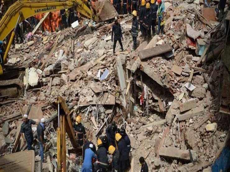 تقرير: مخاوف من احتجاز ما لايقل عن 40 شخصا أسفل مبنى منهار في مومباي