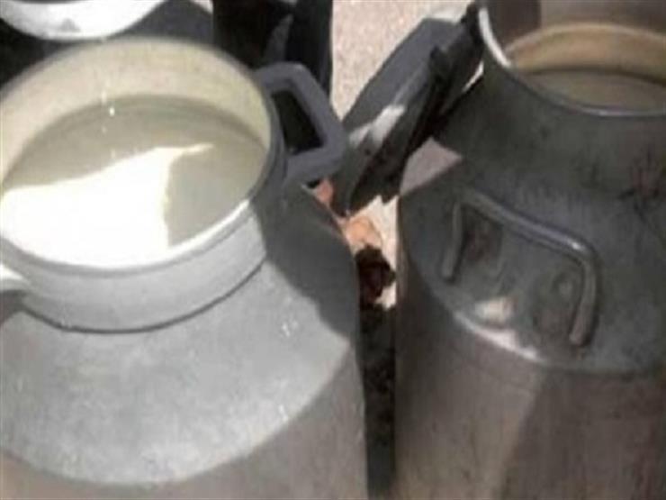 ضبط 4 طن منتجات ألبان مجهولة المصدر داخل مخزن بالجيزة