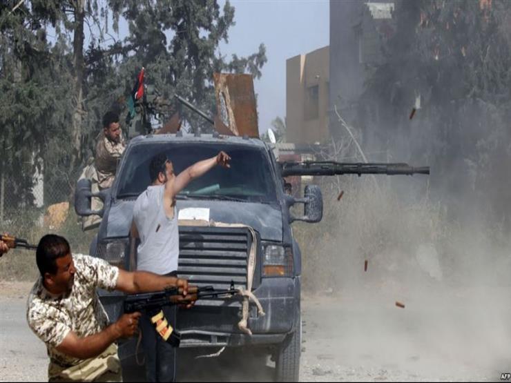 بيان لست دول بينها مصر يدعو إلى وقف القتال في ليبيا