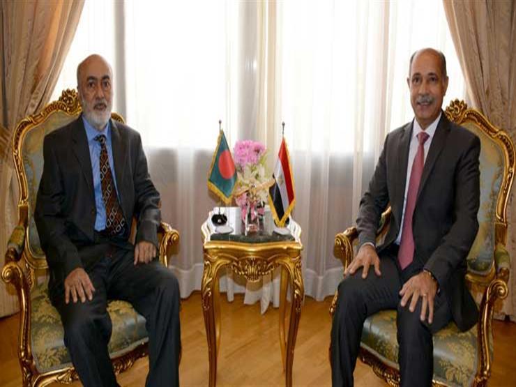 """""""الطيران المدني"""" تناقش الموضوعات العالقة مع سفير دولة بنجلاديش"""