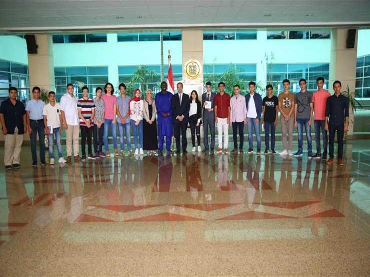 """وزارة الاتصالات تكرم الطلاب خريجي مبادرة """"مبرمجي المستقبل"""""""