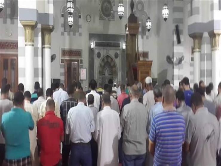 """مساجد في كفر الشيخ تؤدي صلاة """"الخسوف"""""""