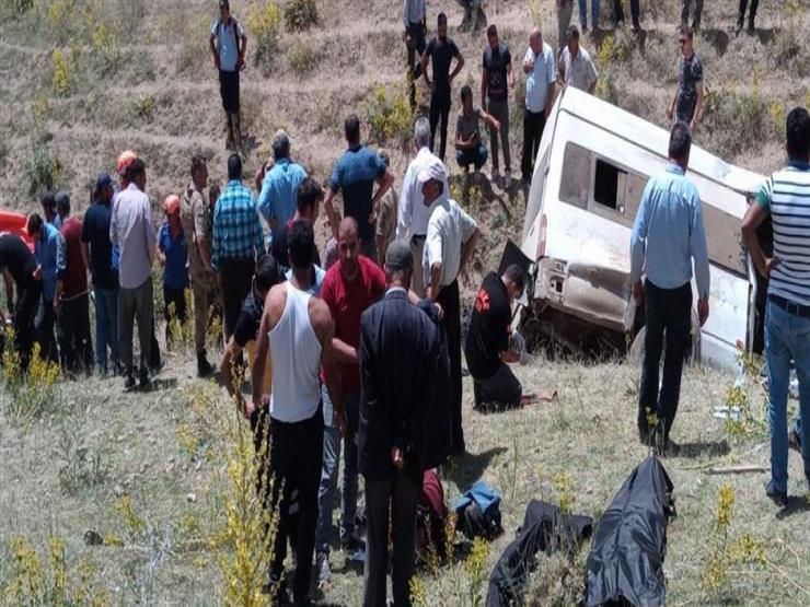 15 قتيلا جراء انقلاب حافلة مهاجرين شرقي تركيا