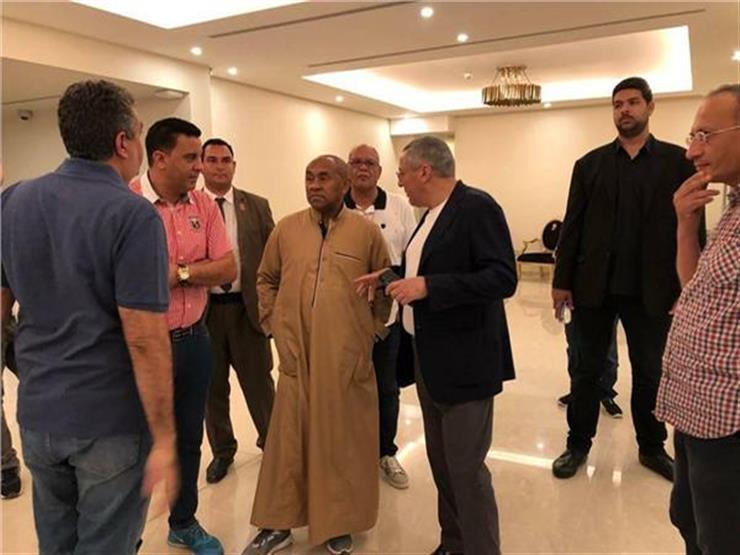 """خرج عن النص المكتوب.. كواليس """"صرخة أحمد أحمد"""" ورد فعل رئيس الفيفا"""