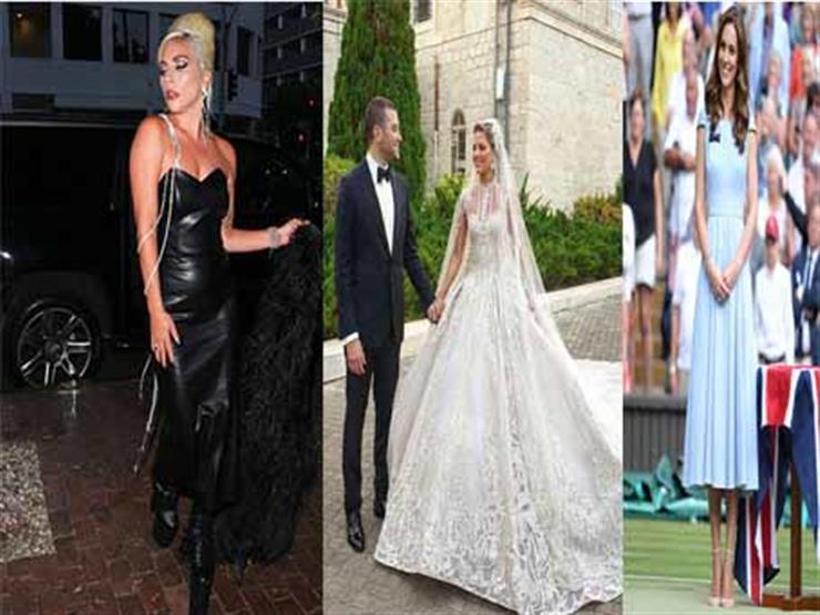الموضة في أسبوع  إطلالات ملكية وساحرة لمشاهير العالم والعرب
