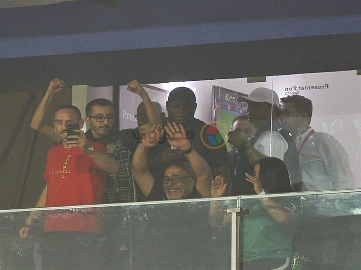صورة.. ريبيري يحتفل بهدف الجزائر في السنغال بنهائي أمم أفريقيا