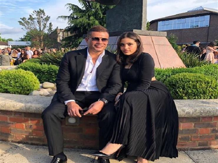 عمرو دياب يحتفل بعيد ميلاد ابنته