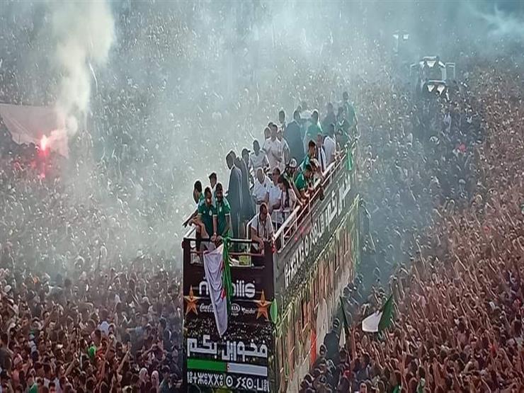 الجماهير الجزائرية تستقبل محاربي الصحراء بعد التتويج بكأس الأمم الأفريقية