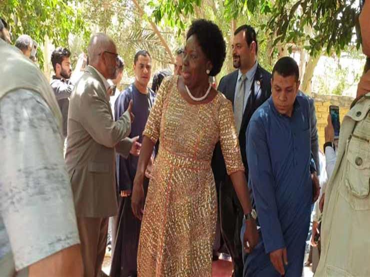 رئيسة البرلمان الأوغندي تزور وزارة الري وتستعرض خبرات إدارة المياه
