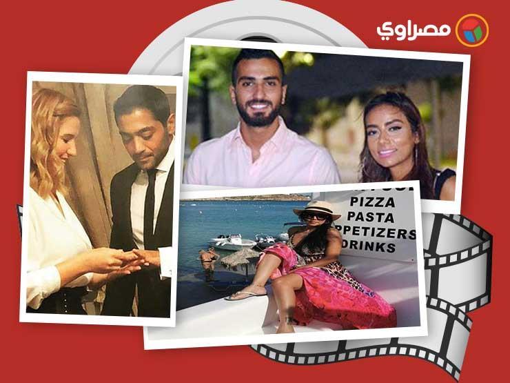 النشرة الفنية| انفصال هنا شيحا وفلوكس وموعد زفاف أحمد فهمي وهنا الزاهد