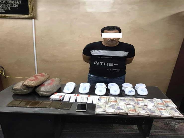 9 كيلو بانجو و 350 ألف جنيه بحوزة مسجل خطر فى الدقهلية   مصراوى