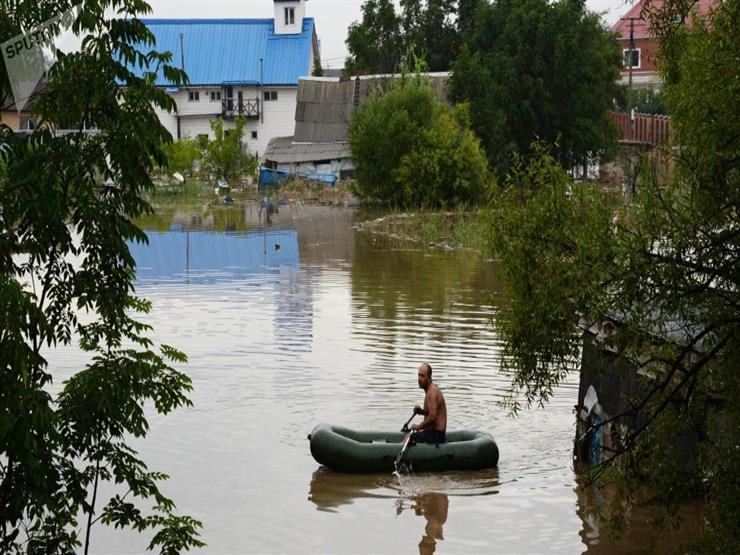 حالة تأهب قصوى في مقاطعة روسية بسبب الفيضانات