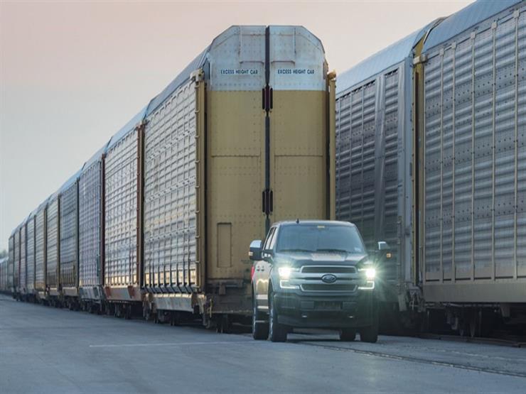 بالفيديو.. فورد تظهر عضلات F-150 بسحب عربة قطار تزن مليون كيلوجرام