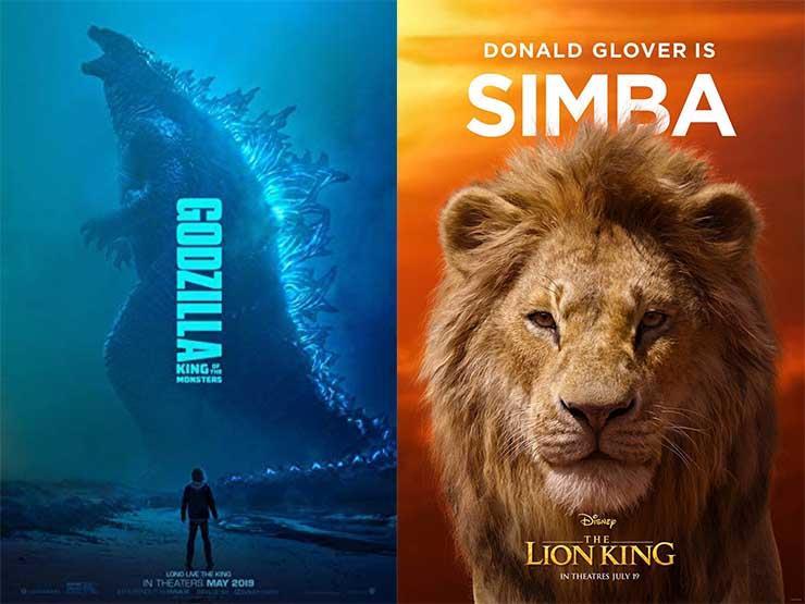 """إيرادات الأربعاء.. """"The Lion King"""" في الصدارة و""""Godzilla"""" بالمركز العاشر"""