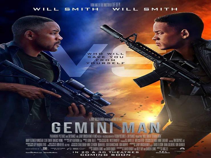 "ويل سميث ينشر بوستر ""Gemini man"""