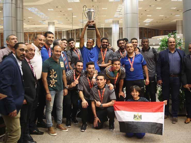 جامعة الفيوم تكرم جهاز منتخب شباب اليد الفائز بكأس العالم