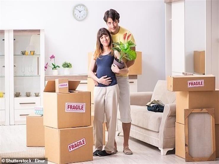 الانتقال إلى منزل جديد أثناء الحمل يؤدي للإنجاب المبكر