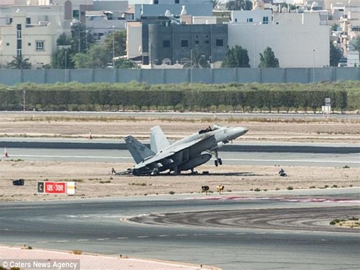 """تحطم مقاتلة """"إف 18"""" تابعة للبحرية الأمريكية في كاليفورنيا"""
