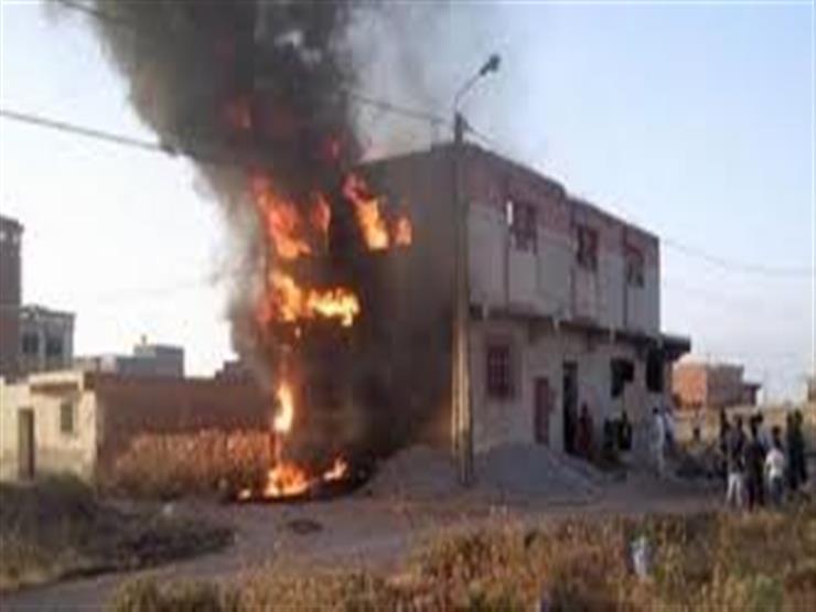 السيطرة على حريق في منزلين بسوهاج دون سقوط ضحايا