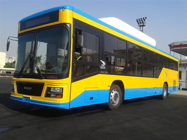 رئيس هيئة النقل العام: أوتوبيسات الغاز الطبيعي الجديدة تسع 50 راكبًا- فيديو