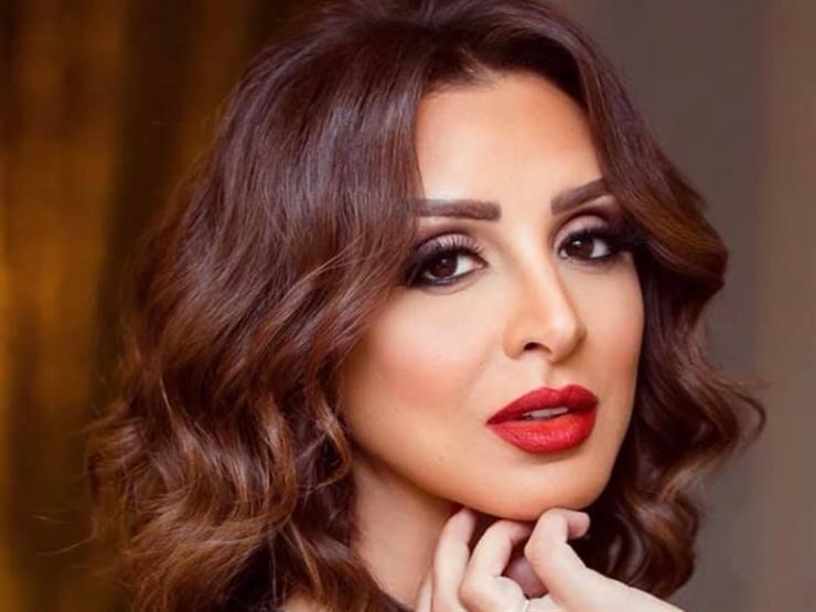 """أنغام تبعث رسالة لزوجها أحمد إبراهيم: """"إيده على كتفي وسندي"""""""