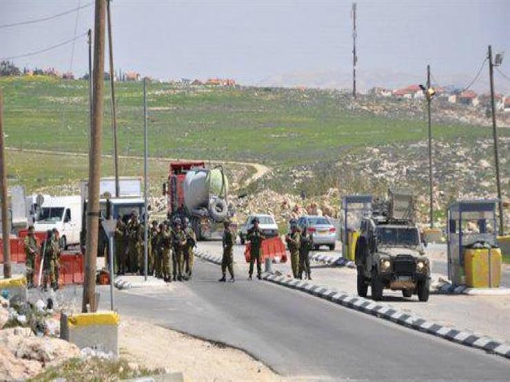 الاحتلال الإسرائيلي يغلق حاجز جبع ومداخل بلدة حزما شمال القدس