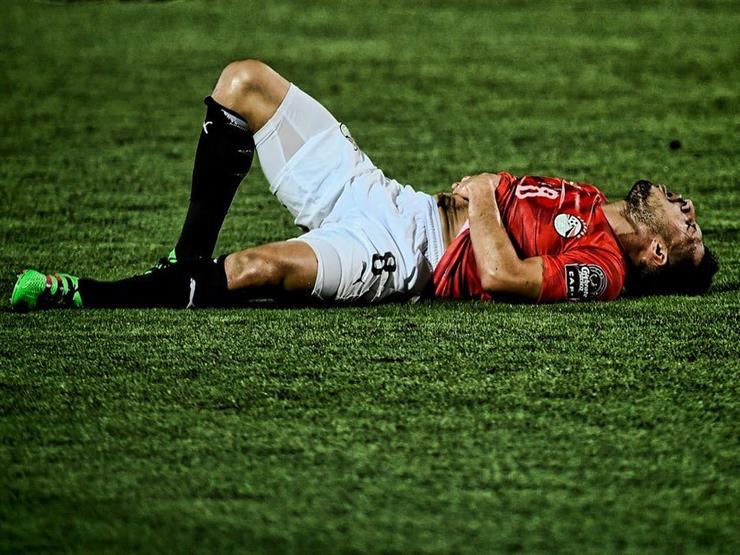 طبيب المنتخب يكشف سر استلقاء طارق حامد بعد كل مباراة