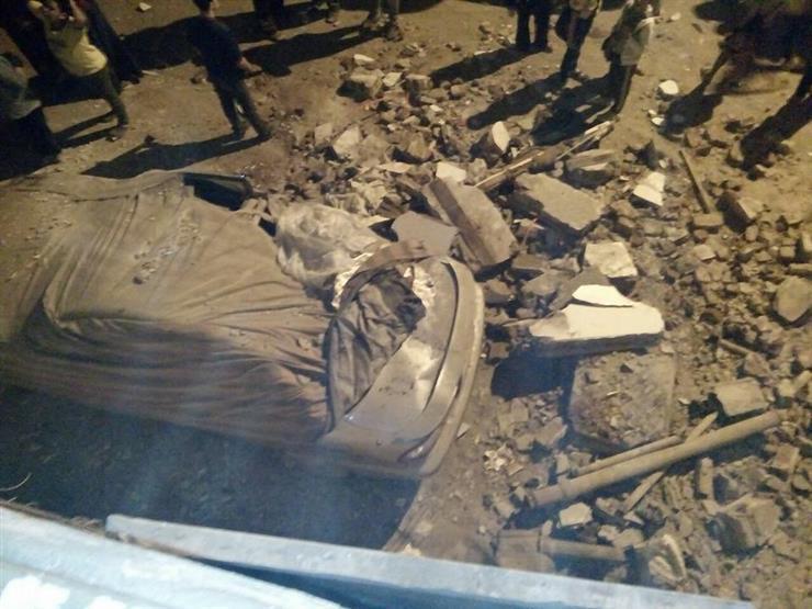محافظة القاهرة: 3 مصابين في انهيار عقار حدائق القبة