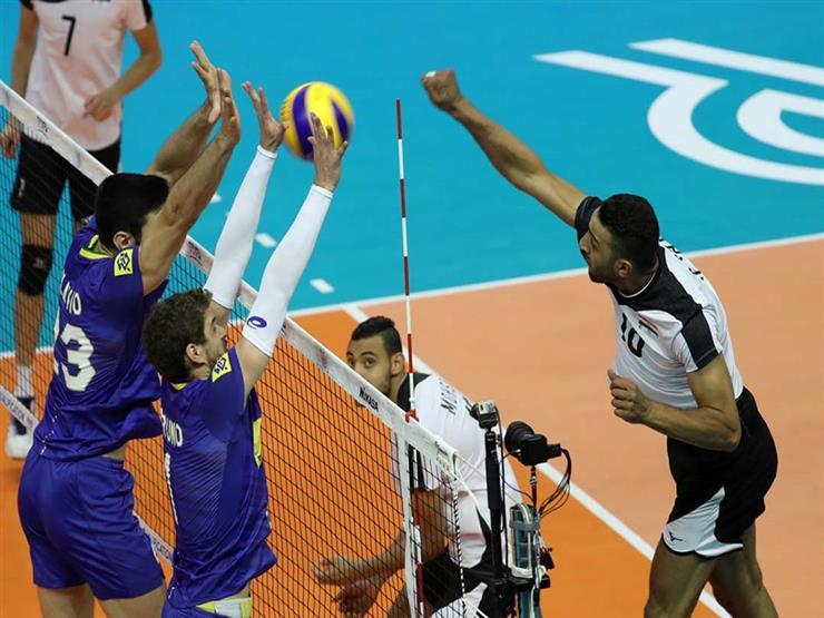 كرة طائرة.. مصر تسقط أمام بطل الأوليمبياد في تصفيات أوليمبياد طوكيو