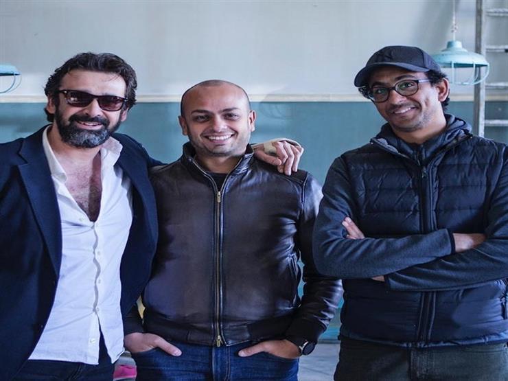"""مروان حامد يكشف كواليس """"الفيل الأزرق2"""" بصورة مع كريم و مراد"""