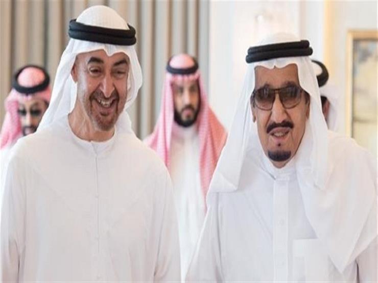 الملك سلمان يلتقي ولي عهد أبوظبي في الديوان الملكي