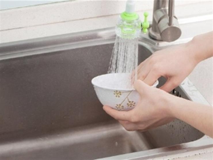 نصائح لتوفير المياه أثناء غسل الأطباق