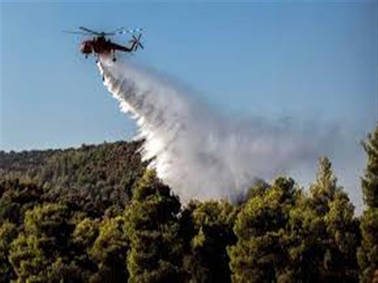 """""""كارثة بيئية"""".. إخلاء 4 قرى بعد حريق مدمر في جزيرة إيفيا اليونانية"""