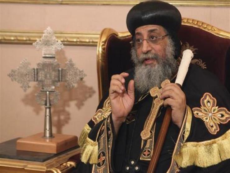 البابا تواضروس يلقي عظته الأسبوعية بكنيسة العذراء والأنبا بيشوى